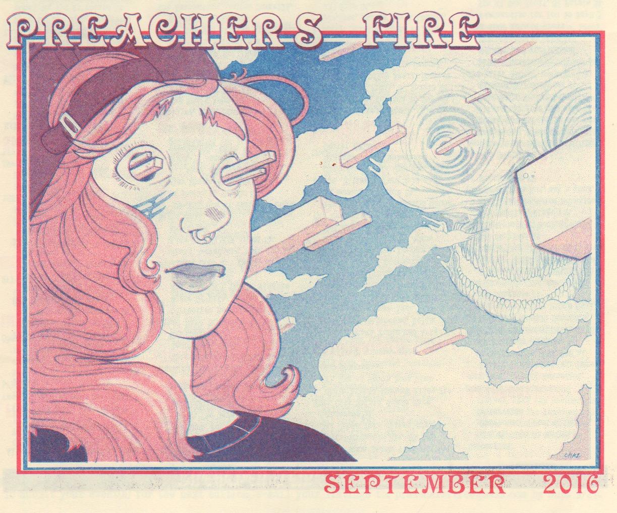 Preacher's Fire September 2016 Cover